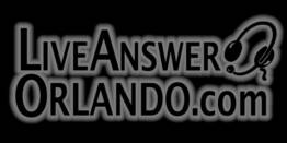 Live Answer Orlando Logo