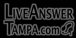 Live Answer Receptionist Tampa Logo